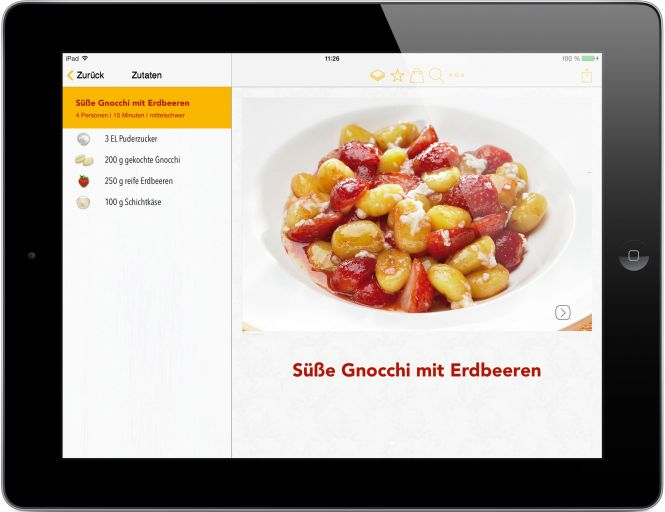 Screenshot Easy Cooking App