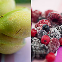 Rezept aus der App Smoothies!: Waldbeeren-Smoothie