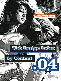 Cover Web Design Index by Content