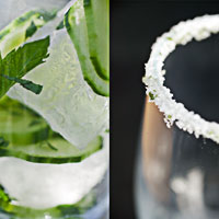 Mint & Cucumber Refresher